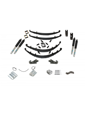 5 Inch Custom Spring System 73-87(91) K5, K10, K20, and Suburban with GM Dana 60 With Push Pull Steering