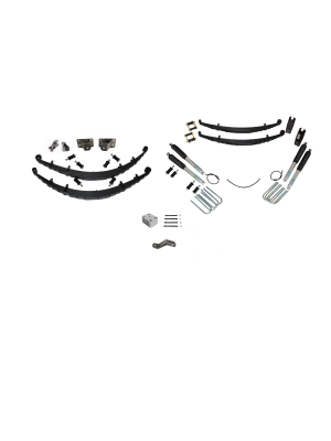 7 Inch Custom Spring System 69-72 Blazer, K10, K20, and Suburban With GMD60 Axle With Push Pull Steering