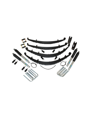 2 Inch Custom Spring System 69-72 Blazer, K10, k20, and Suburban With GMD60 Axle With Push Pull Steering