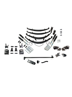 7 Inch Custom Spring System Lift GMT 400 SAS FORD D60 52 Inch Springs