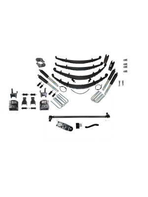 4 Inch Custom Spring System Lift GMT 400 SAS FORD D60 47 Inch Springs