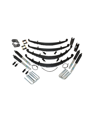 2 Inch Custom Spring System 73-87(91) K5, K10, K20, and Suburban with GM Dana 60 With Push Pull Steering