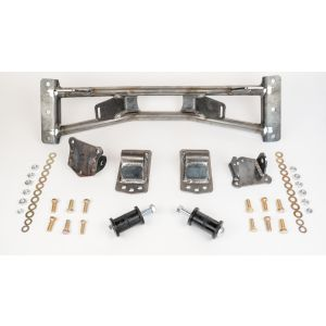 Combination Kit of Competition Style Motor Mounts for 73-91 GM with Small Block High Clearance Engine Crossmember