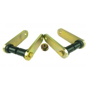 Heavy Duty Kevlar Front Shackle Kit for '67-87 ('91) GM Trucks Using Stock Springs and FUSH Kit, Non-Greasable