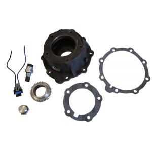 Labor to Machine Customer's NP205 Speedometer Housing for GM VSS, Tone Wheel, Plug, Speed Sensor and Pigtail Included