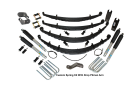 4 Inch Custom Spring System 73-87(91) K5, K10, K20, and Suburban with 6 lug axles With Push Pull Steering