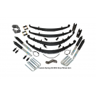 4 Inch Custom Spring System 73-87(91) K5, K10, K20, and Suburban with GM Dana 60 With Push Pull Steering