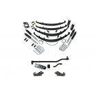 6 Inch Custom Spring System 73-87(91) K5, K10, K20, and Suburban with GM Dana 60 With Crossover Steering