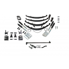 4 Inch Custom Spring System Lift GMT 400 SAS Ford D44 47 Inch Springs