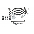 3 Inch Custom Spring System Lift GMT 400 SAS FORD D60 47 Inch Springs