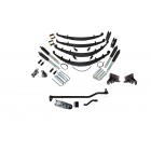 6 Inch Custom Spring System 73-87(91) K30 V3500 with GM Dana 60 With Crossover Steering