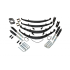 2 Inch Custom Spring System 73-87(91) K5, K10, K20, and Suburban with 6 lug axles With Push Pull Steering