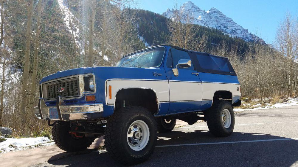 1969 1991 K5 Blazer Jimmy Soft Top